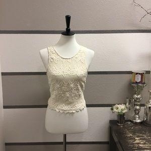 ASTR Crochet Style Crop Top
